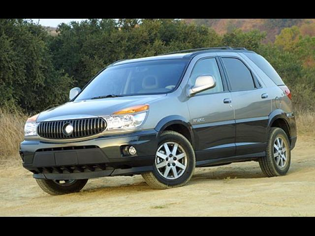 Junk 2004 Buick Rendezvous in Canyon Country