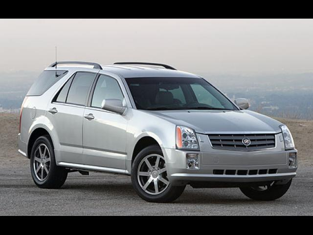 Junk 2004 Cadillac SRX in Los Angeles