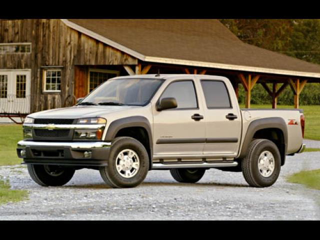 Junk 2004 Chevrolet Colorado in Barton