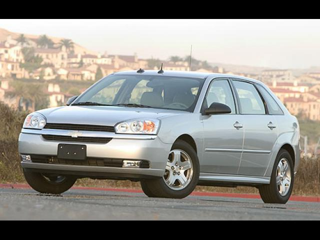 Junk 2004 Chevrolet Malibu in Brick