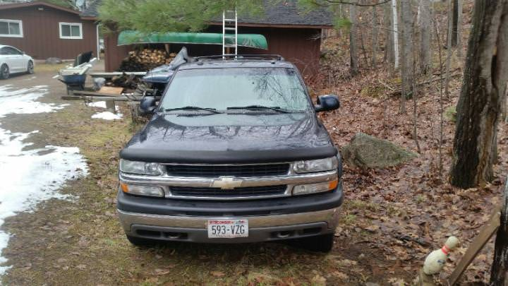 Junk 2004 Chevrolet Suburban in Harshaw