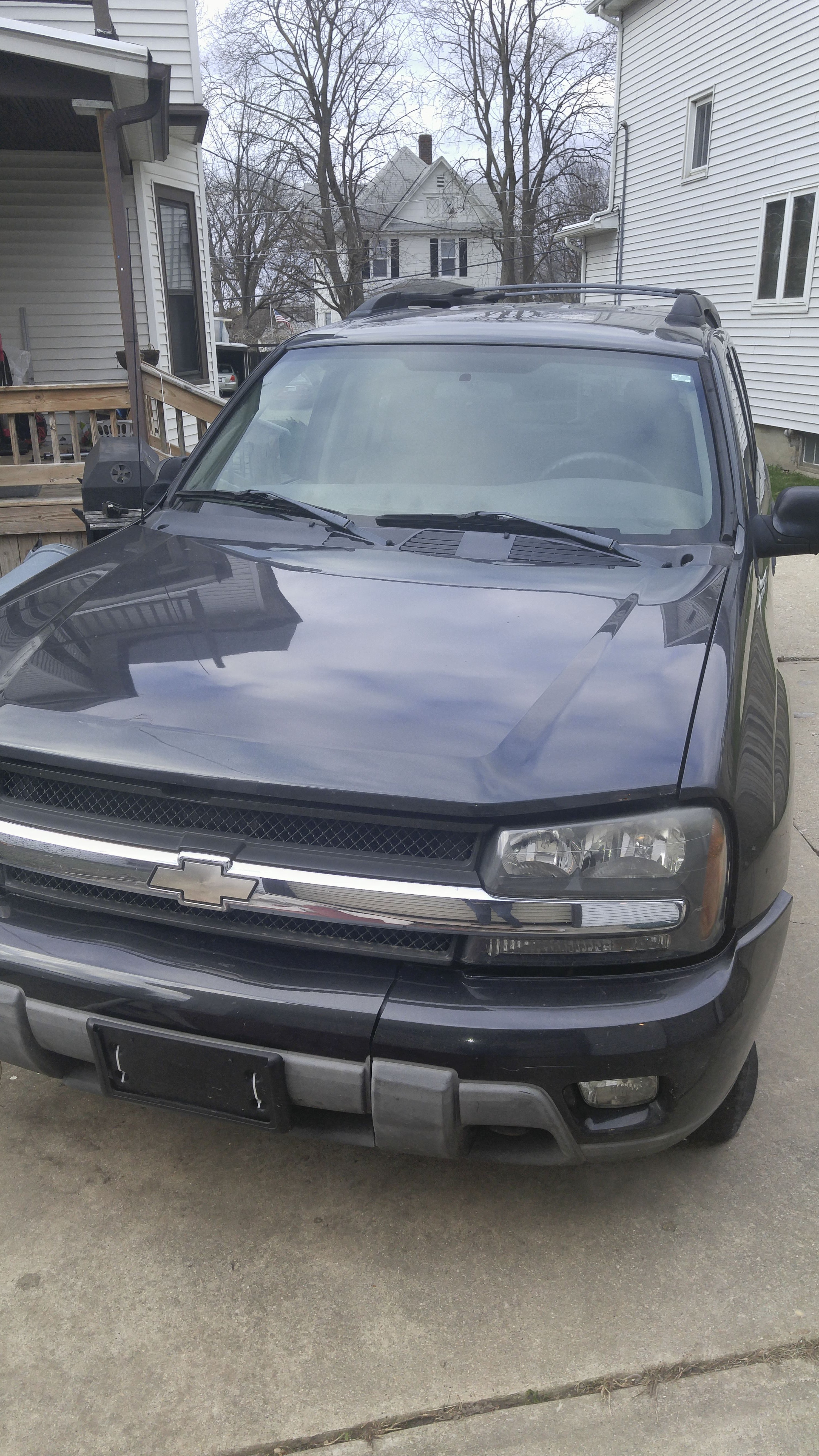 Junk 2004 Chevrolet TrailBlazer in Freeport