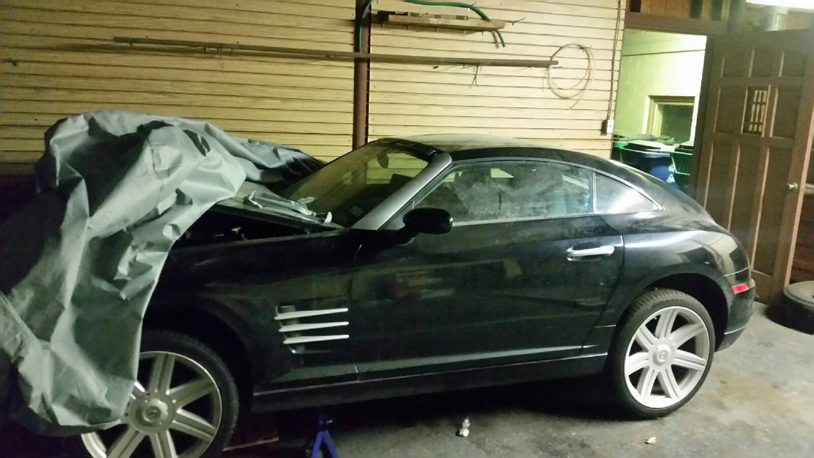 Junk 2004 Chrysler Crossfire in McKinney