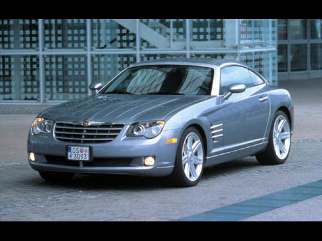 Junk 2004 Chrysler Crossfire in San Francisco