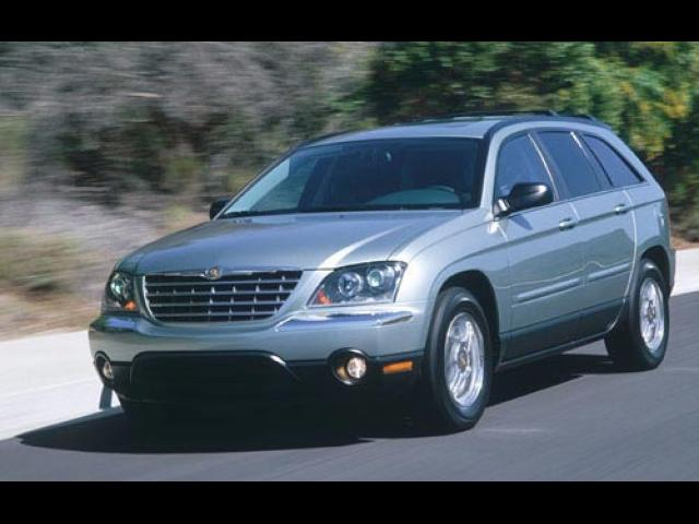 Junk 2004 Chrysler Pacifica in South Bend
