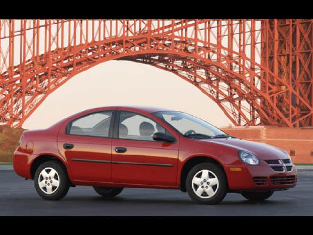Junk 2004 Dodge Neon in California
