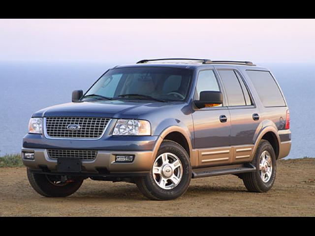 Junk 2004 Ford Expedition in Orange