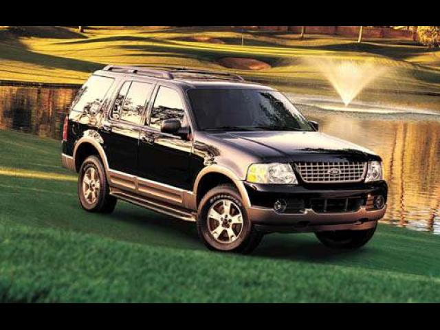 Junk 2004 Ford Explorer in Chester