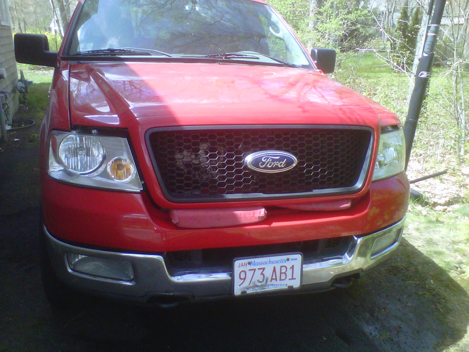 Junk 2004 Ford F150 in Sandwich