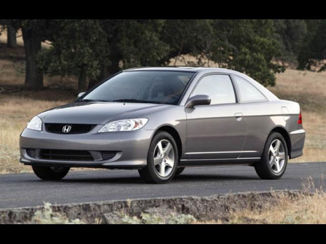 Junk 2004 Honda Civic in Corona