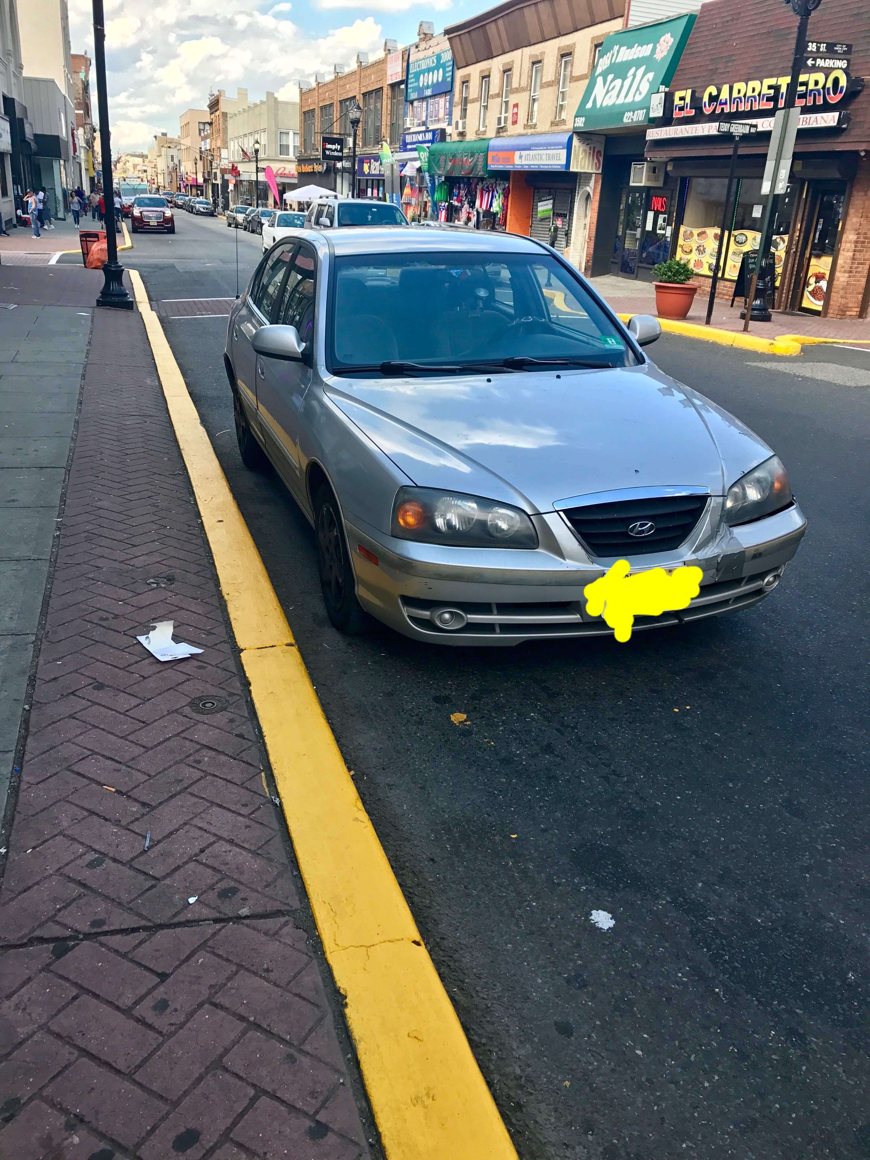 Junk 2004 Hyundai Elantra in Jersey City
