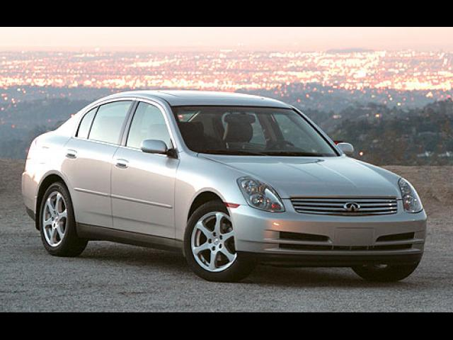 Junk 2004 Infiniti G35 in Hollywood