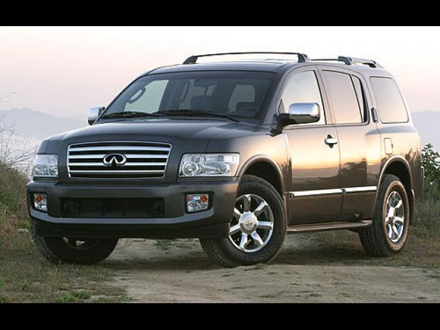 Junk 2004 Infiniti QX56 in Missouri City