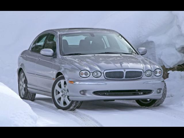Junk 2004 Jaguar X-Type in Fort Worth
