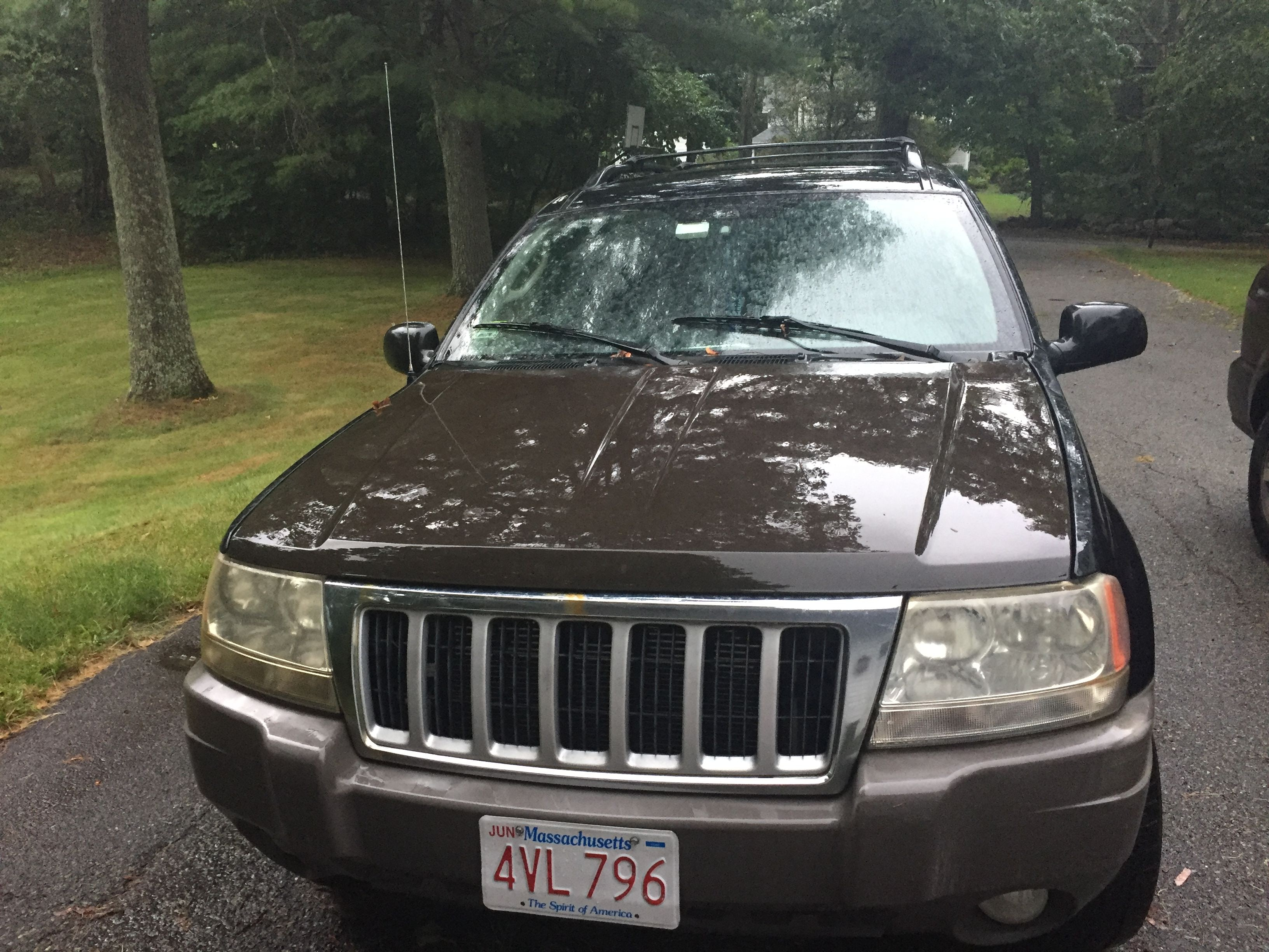 Junk 2004 Jeep Grand Cherokee in Lincoln