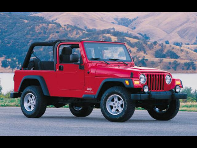Junk 2004 Jeep Wrangler / TJ in Hayward