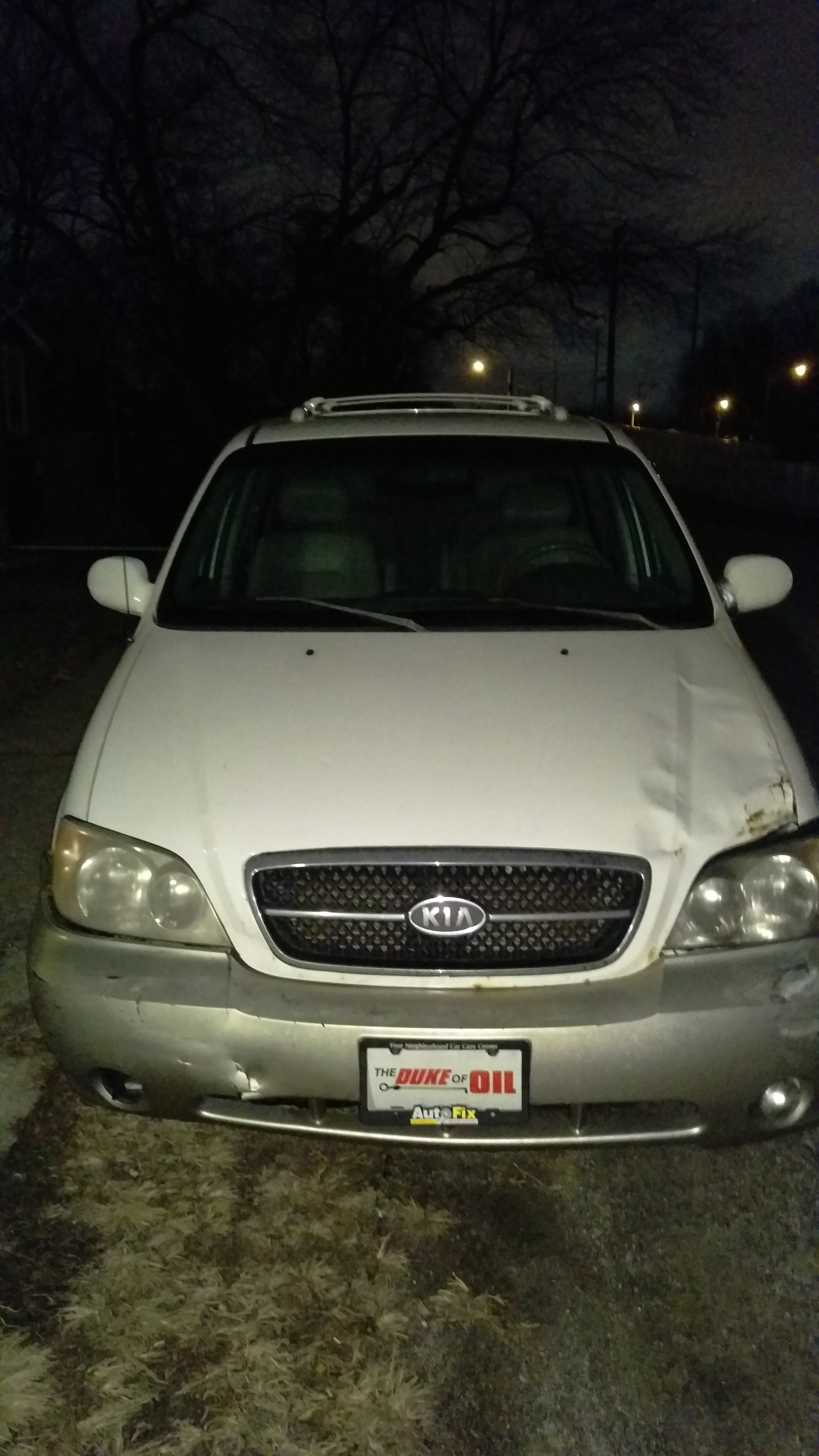 Junk 2004 Kia Sedona in Hammond