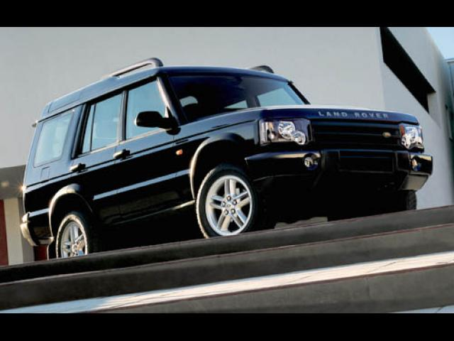 Junk 2004 Land Rover Discovery II in Paramount