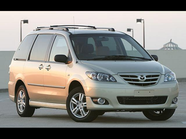 Junk 2004 Mazda MPV in Quincy