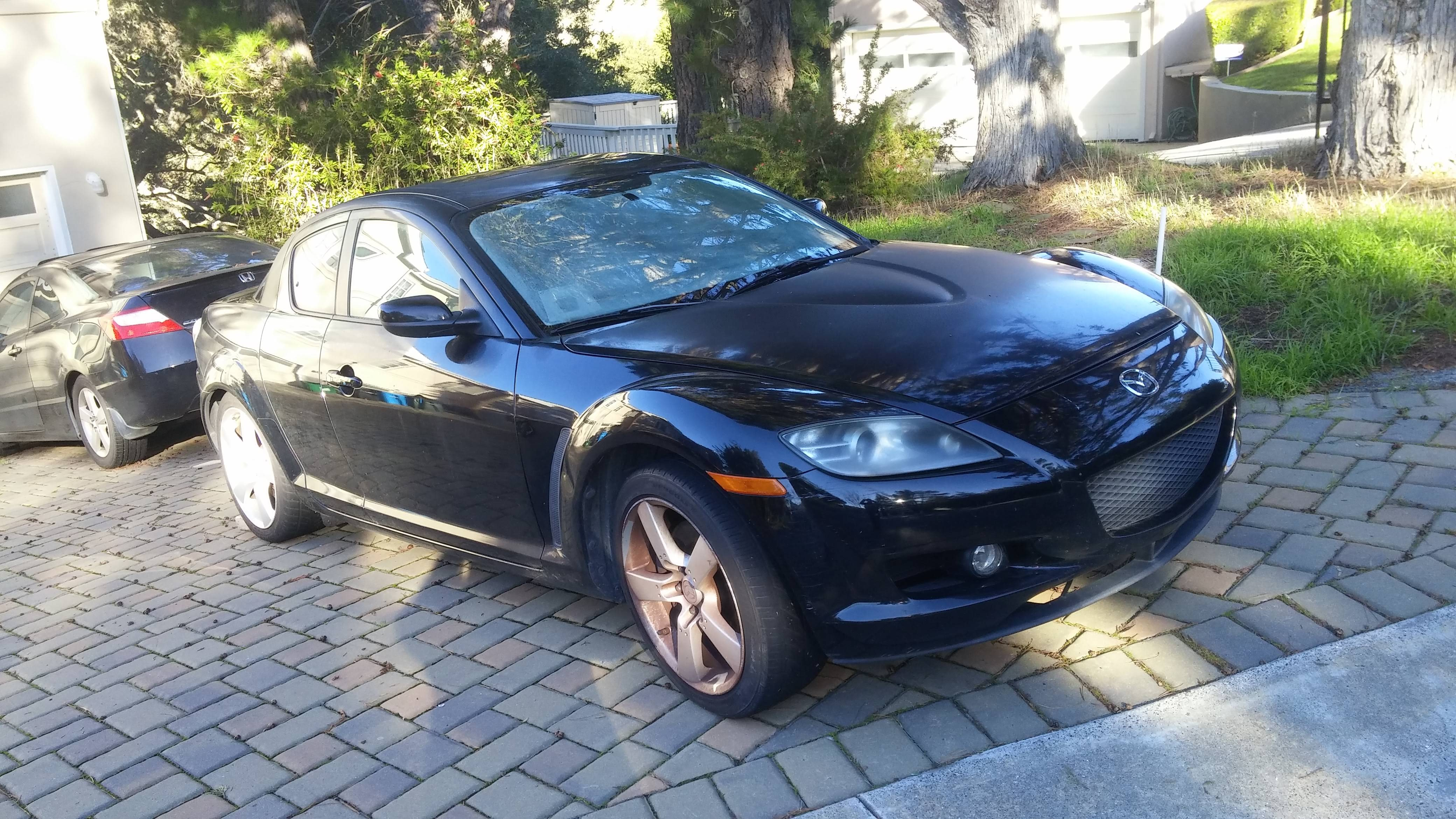 Junk 2004 Mazda RX8 in Burlingame