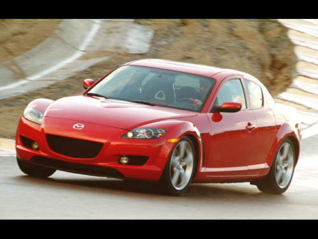 Junk 2004 Mazda RX8 in Houston