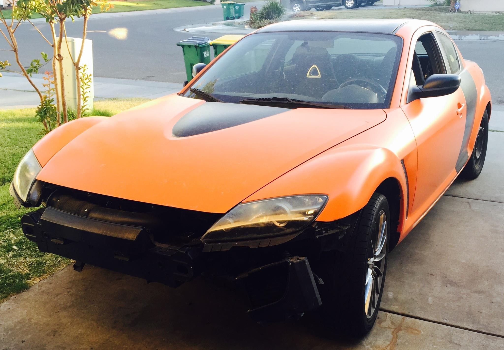 Junk 2004 Mazda RX8 in Stockton