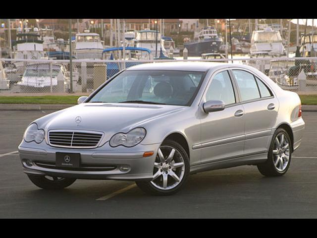 Junk 2004 Mercedes-Benz C in Lake Worth