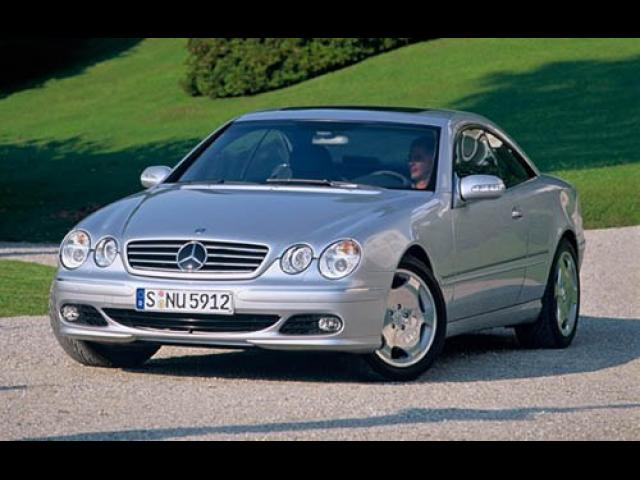 Junk 2004 Mercedes-Benz CL in Nanuet