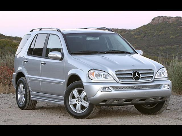 Junk 2004 Mercedes-Benz ML in Cromwell