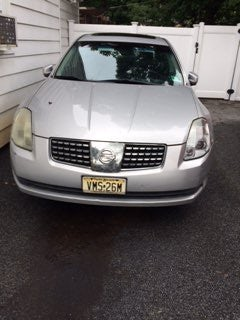 Junk 2004 Nissan Maxima in Little Falls