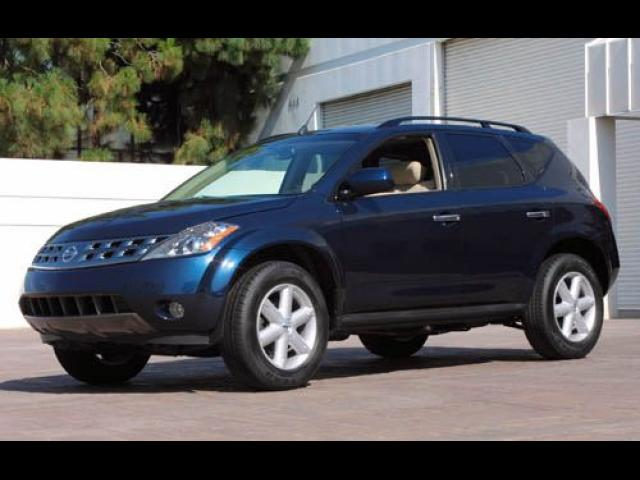 Junk 2004 Nissan Murano in Galveston