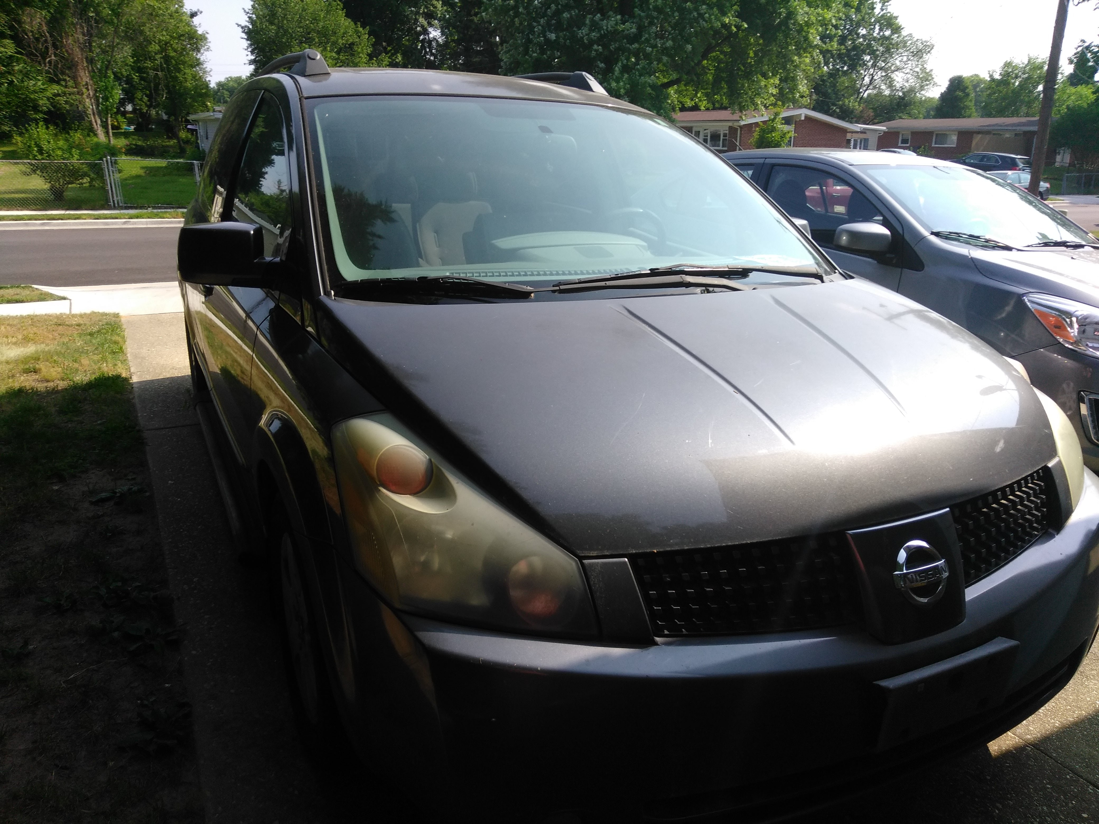 Junk 2004 Nissan Quest in Glen Burnie