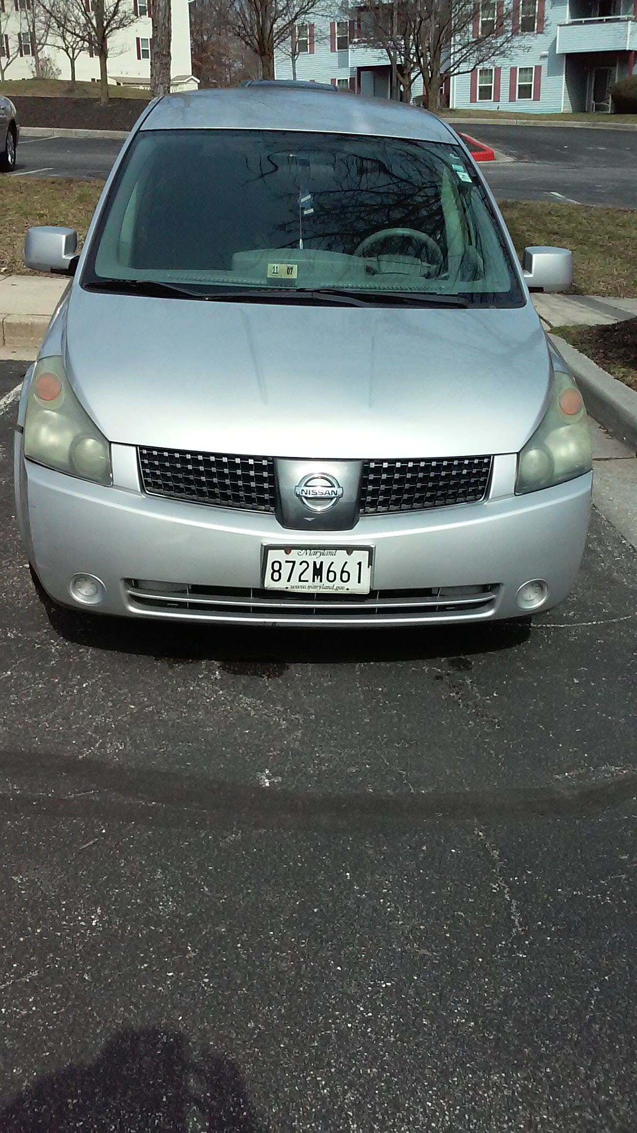 Junk 2004 Nissan Quest in Laurel