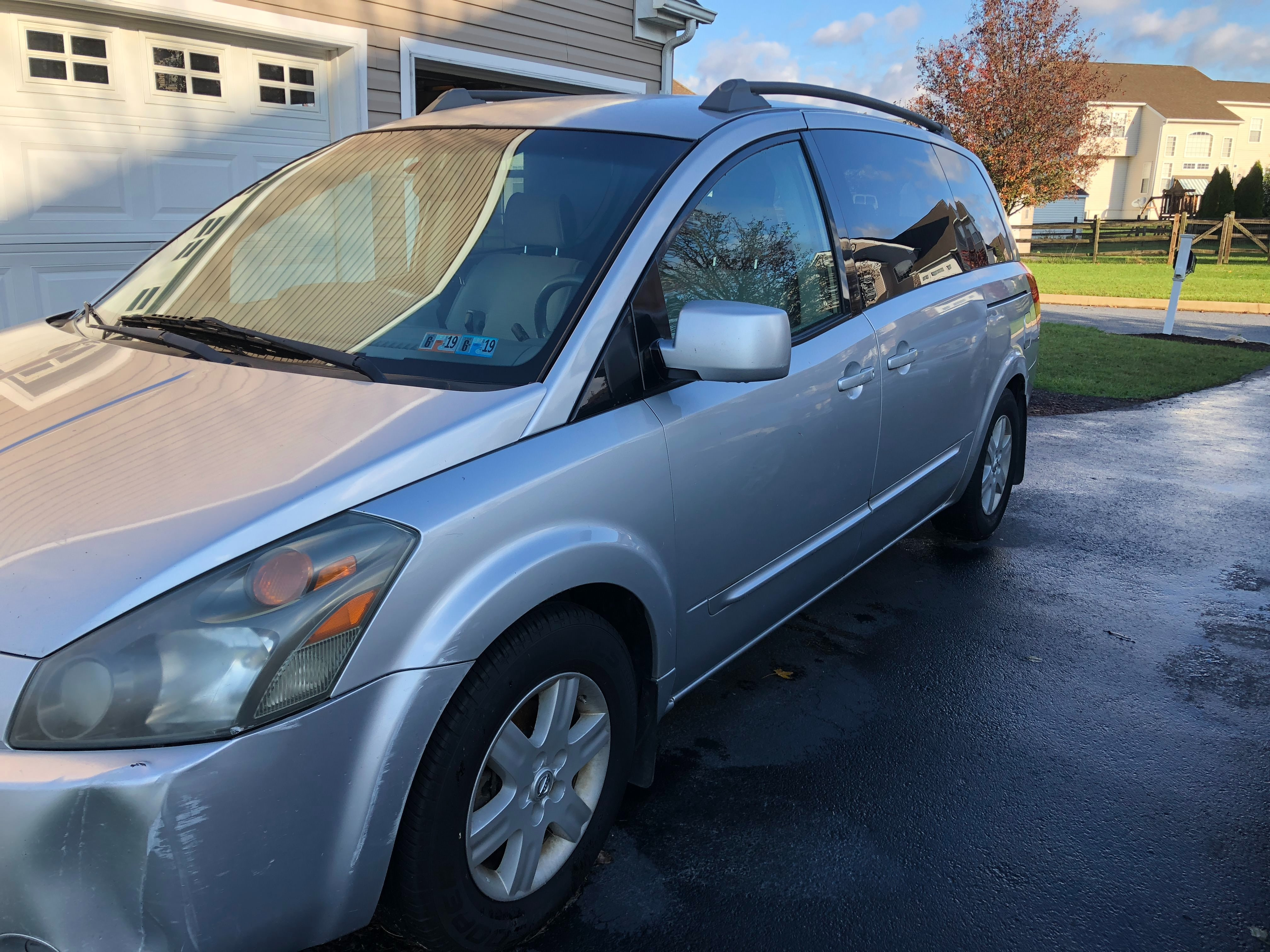Junk 2004 Nissan Quest in West Grove
