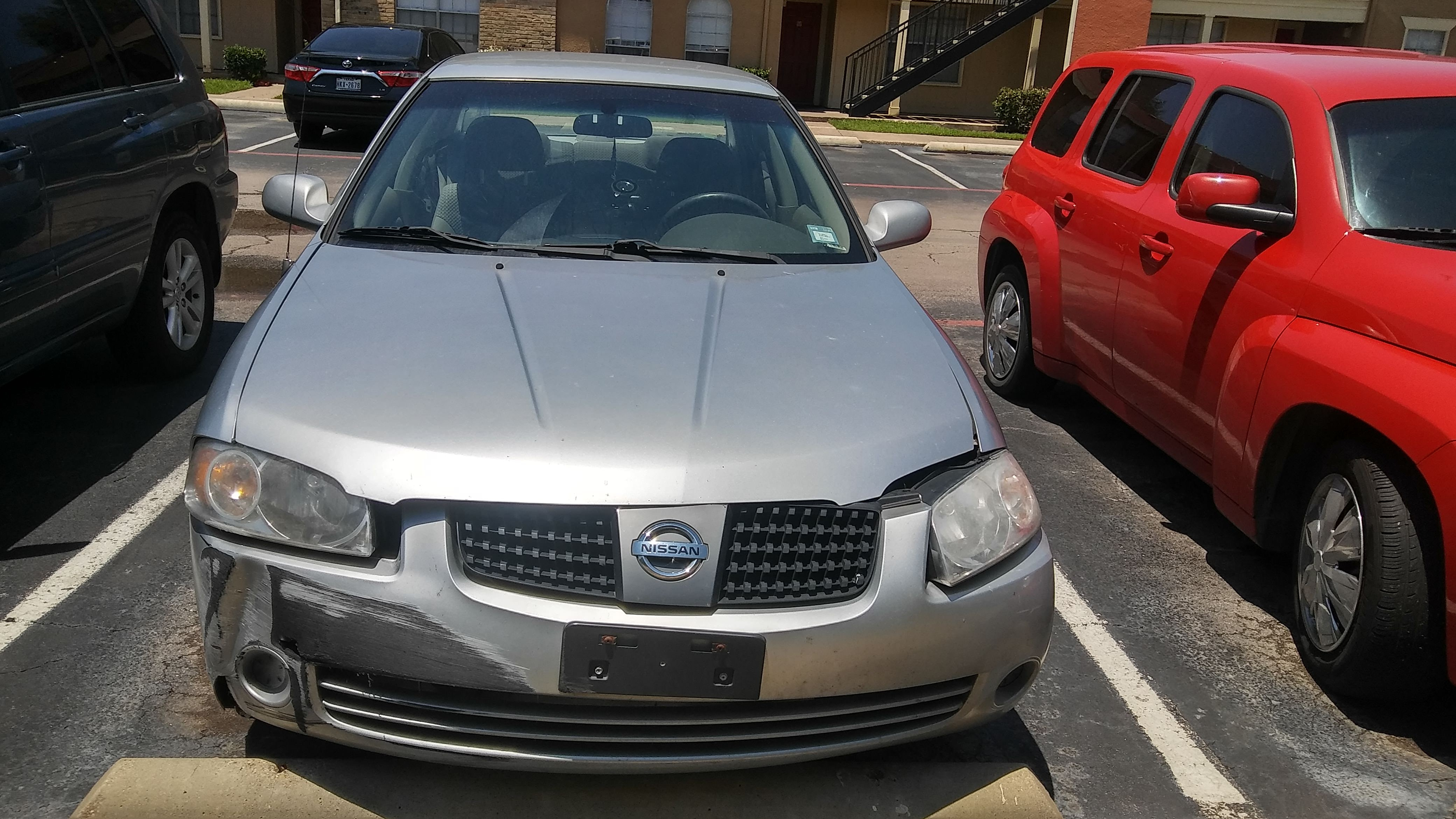 Junk 2004 Nissan Sentra in Irving