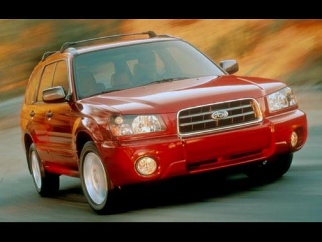 Junk 2004 Subaru Forester in Brick