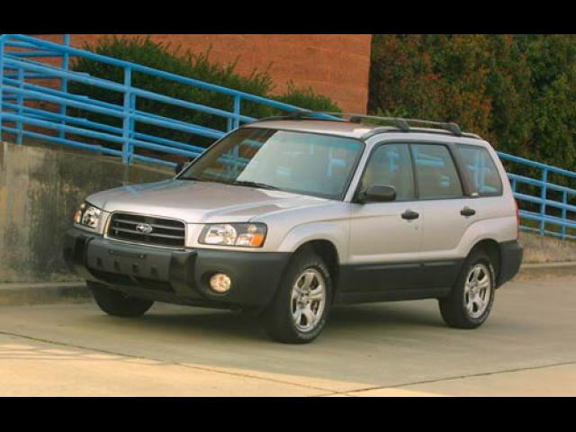 Junk 2004 Subaru Forester in Houston