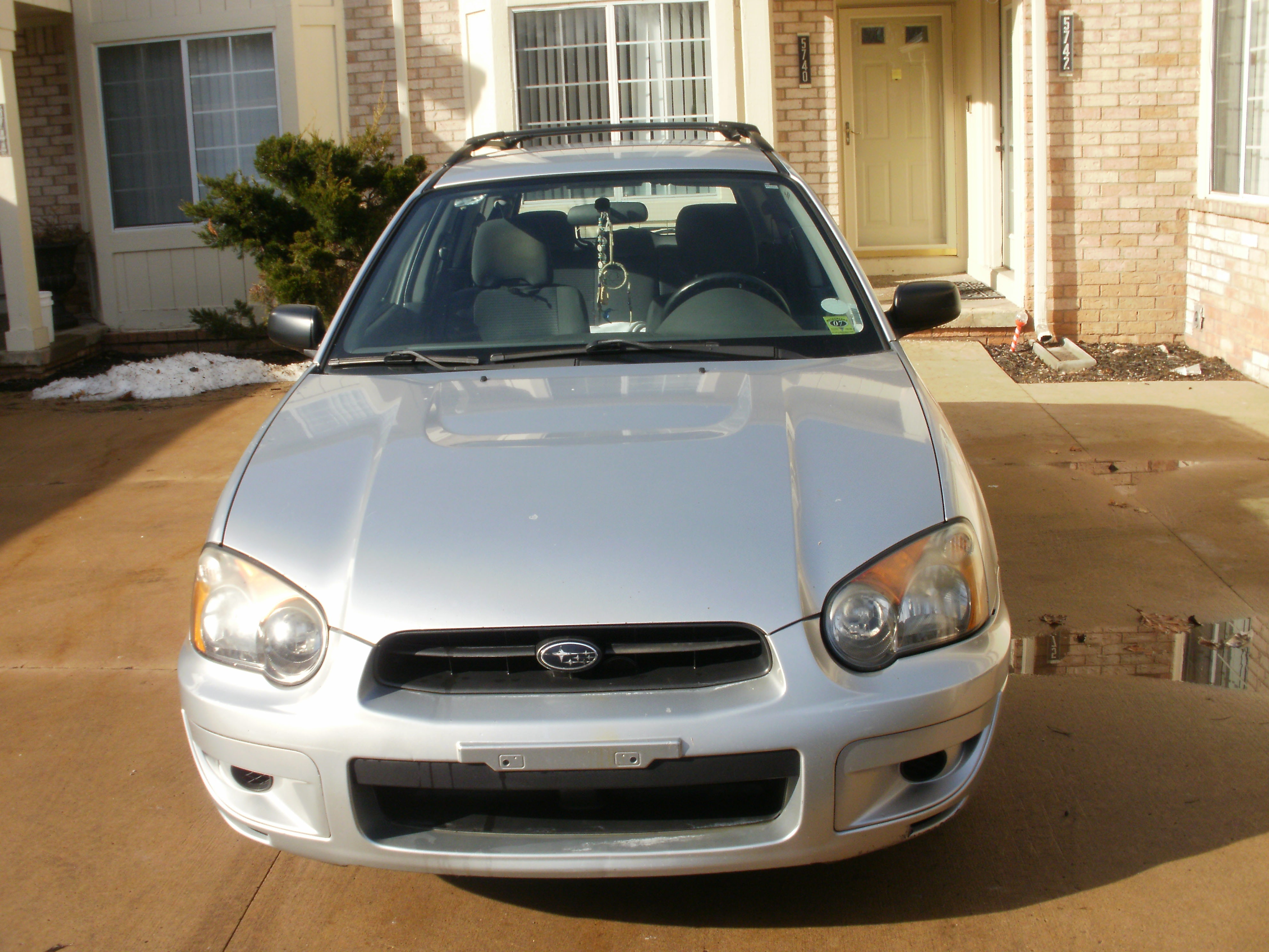 Junk 2004 Subaru Impreza in West Bloomfield