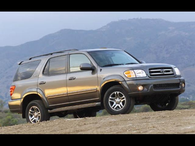 Junk 2004 Toyota Sequoia in Riverside