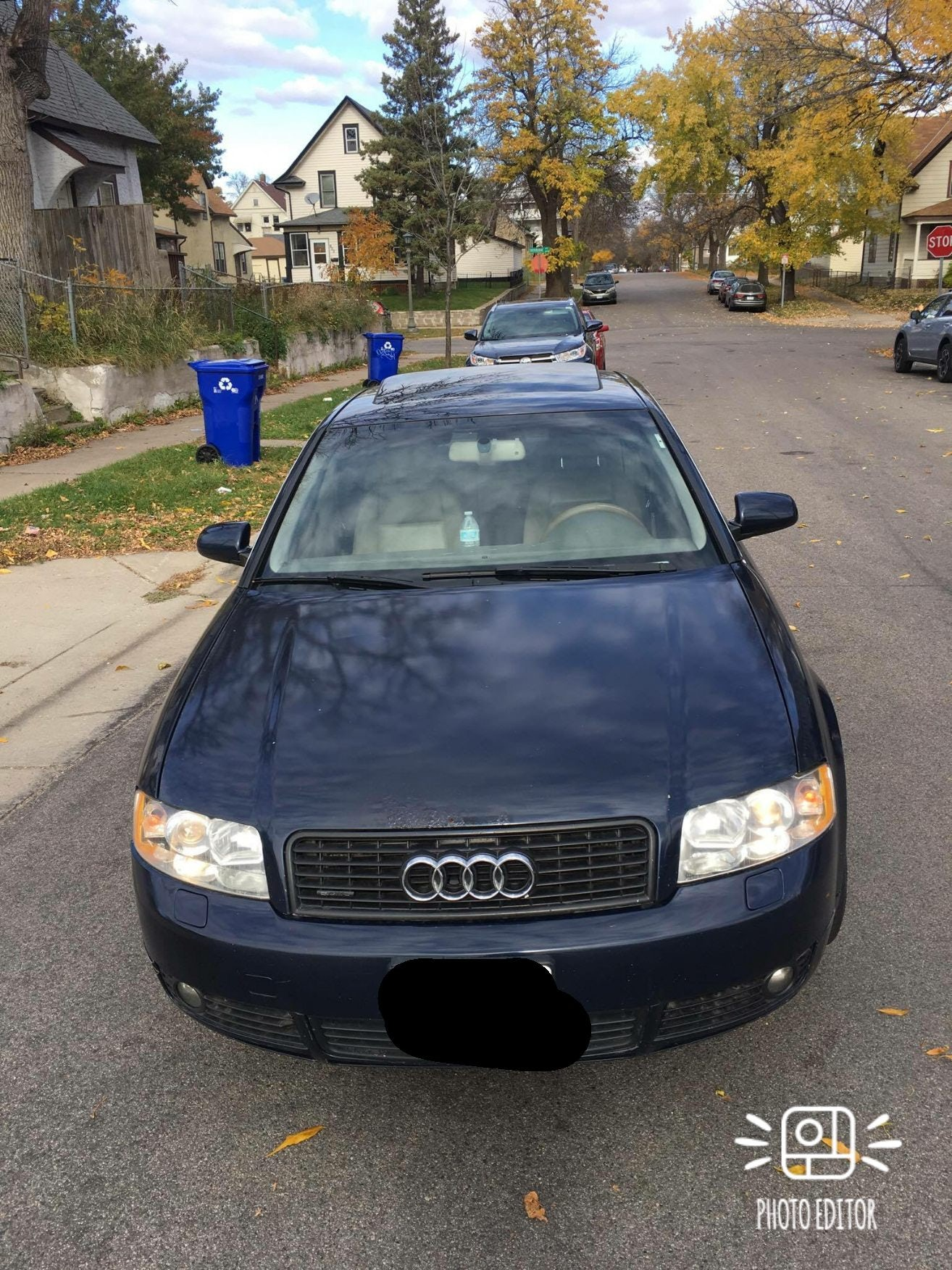 Junk 2005 Audi A4 in Saint Paul