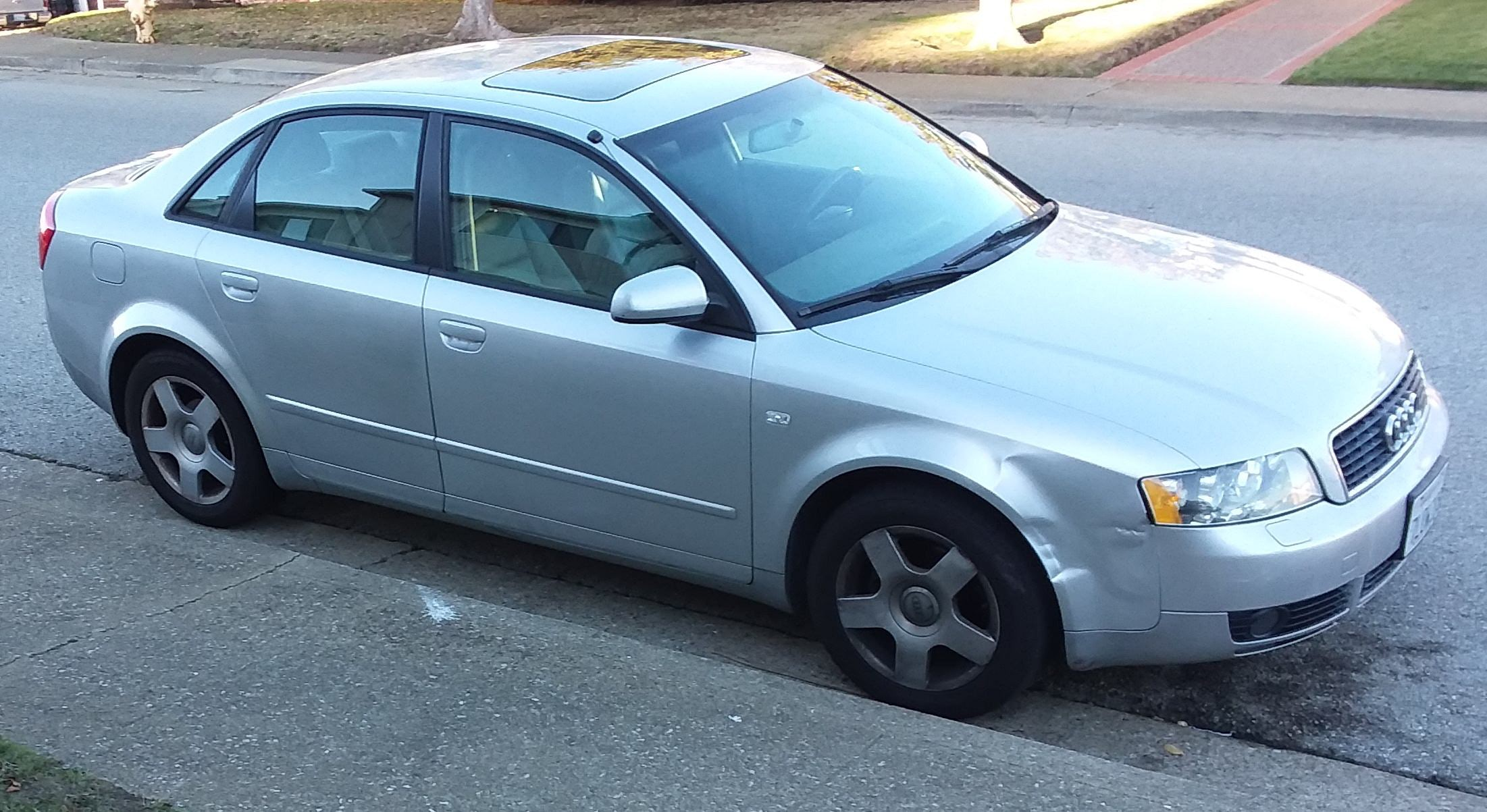 Junk 2005 Audi A4 in South San Francisco