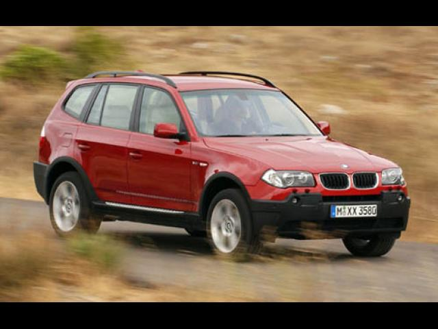 Junk 2005 BMW X3 in Los Angeles