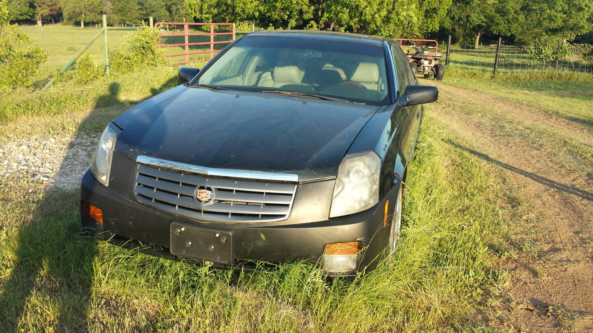 Junk 2005 Cadillac CTS in Burleson