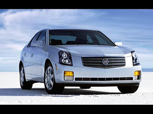 Junk 2005 Cadillac CTS in Merced