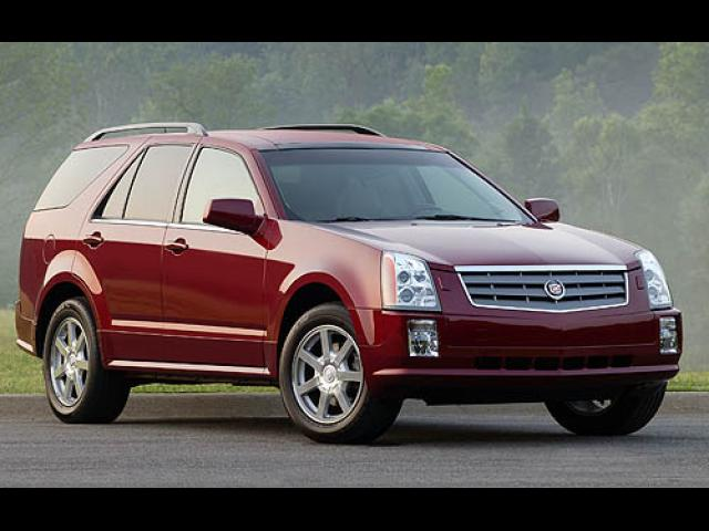 Junk 2005 Cadillac SRX in Lawrence