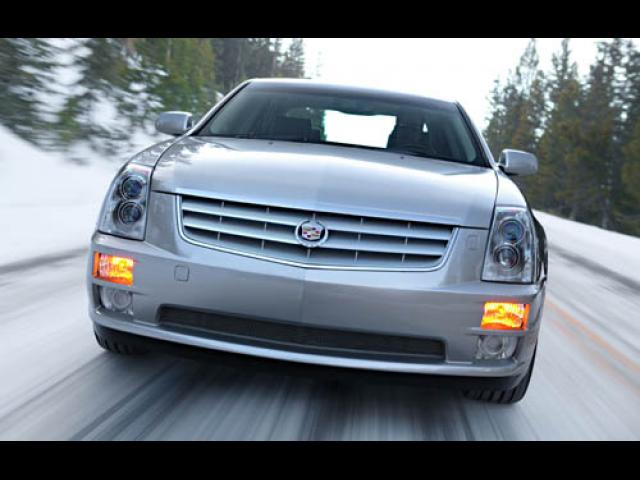 Junk 2005 Cadillac STS in Fresno