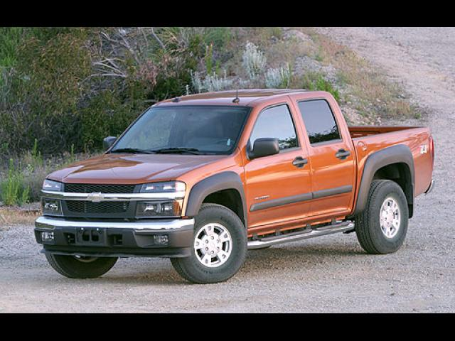 Junk 2005 Chevrolet Colorado in Hedrick