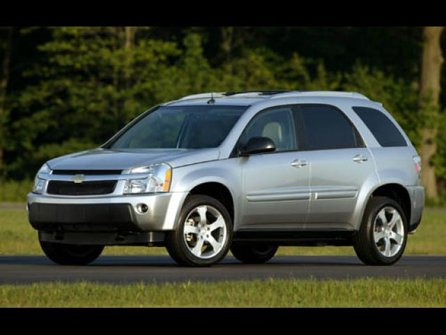 Junk 2005 Chevrolet Equinox in Old Lyme