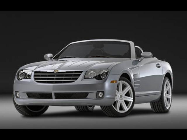 Junk 2005 Chrysler Crossfire in El Reno