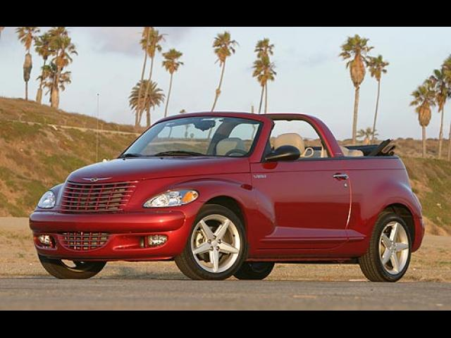 Junk 2005 Chrysler PT Cruiser in Houston